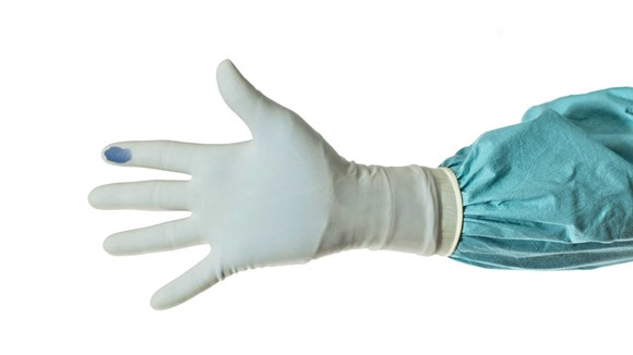Biogel synthetic glove